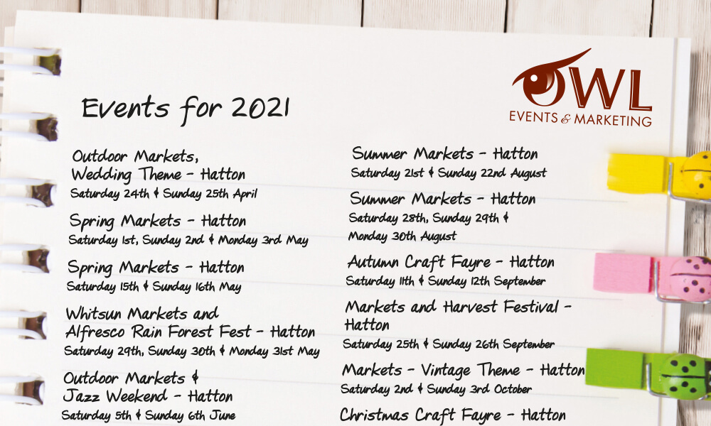 2021 events lists